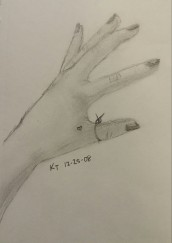 Hand Drawing, Pencil, 25 December 2008